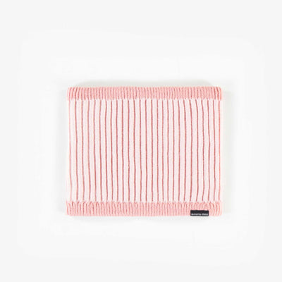 Cache-cou rose, bébé fille || Pink Neck Warmer, Baby Girl