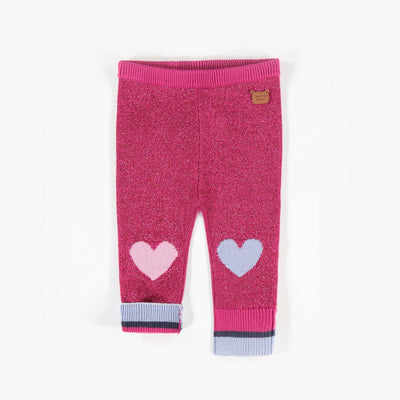 Legging rose de maille || Pink Knit Leggings