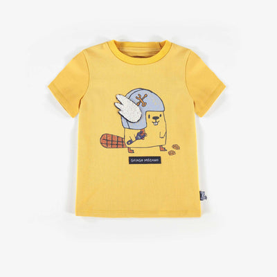 T-shirt jaune || Yellow T-shirt