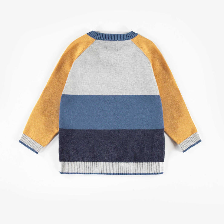 Chandail gris et jaune || Yellow & Grey Sweater