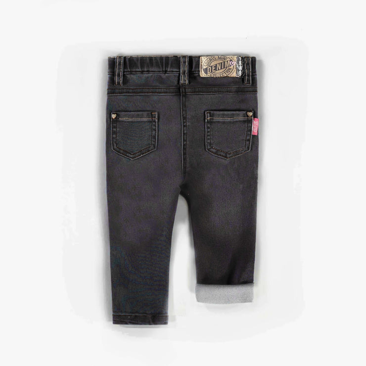 Pantalon en denim noir, Coupe très ajustée || Black Denim Pants, Super Skinny
