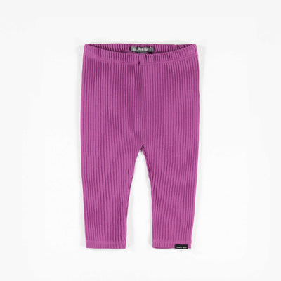 Legging mauve côtelé || Purple Ribbed Leggings