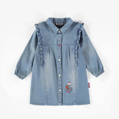 Robe de denim léger || Light Denim Dress