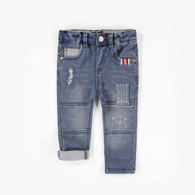 Pantalon de denim bleu -Coupe régulière|| Blue Denim Pants -Regular Fit