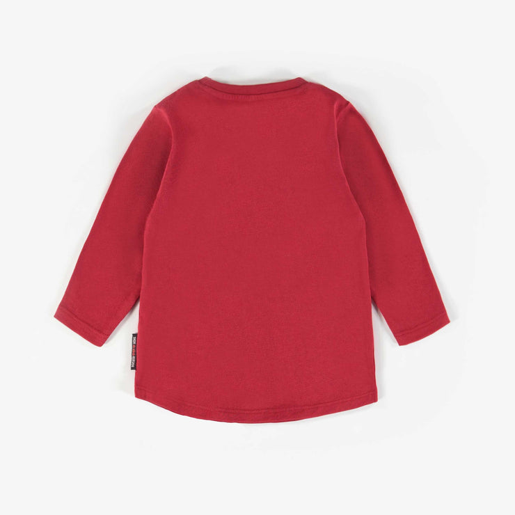 T-shirt rouge à manches longues || Red Long-sleeve T-shirts