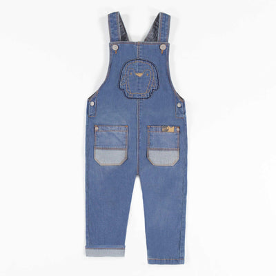 Salopette de denim bleu || Blue Denim Overall