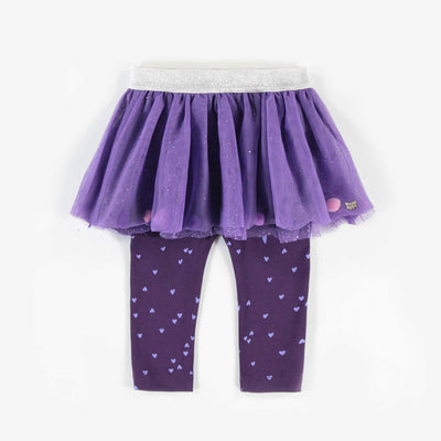 Jupe legging mauve || Purple Skirted Leggings
