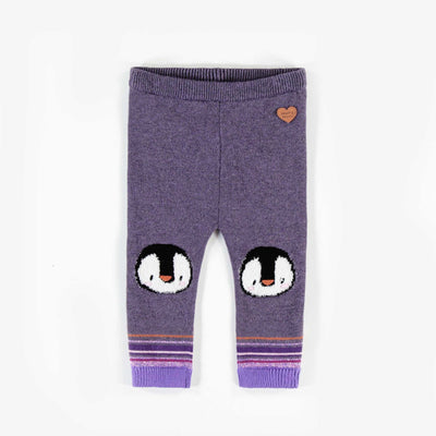 Legging pingouin en maille || Penguin Knit Leggings