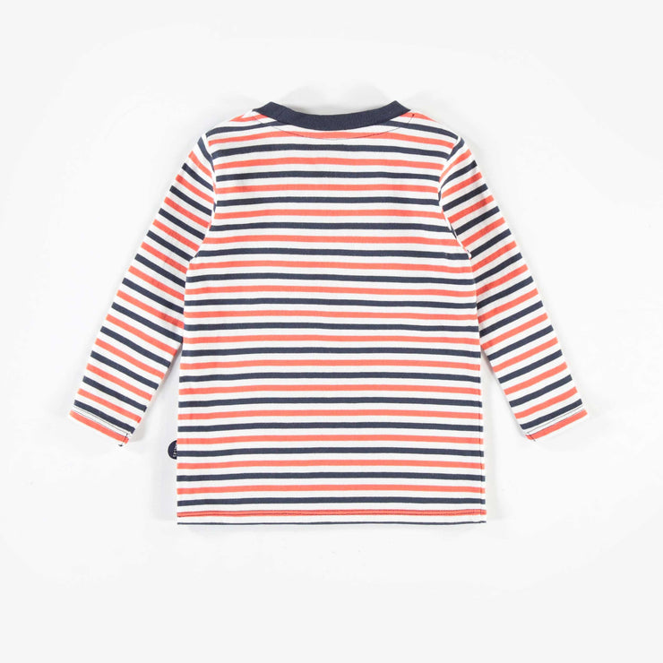 T-shirt rayé à manches longues || Striped Long-sleeve T-shirt