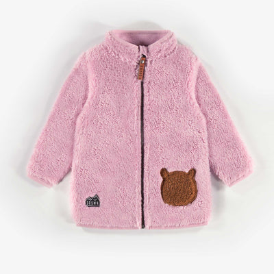 Veste en polar rose || Pink Fleece Vest