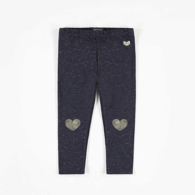 Legging charcoal, bébé fille || Charcoal Leggings, Baby Girl