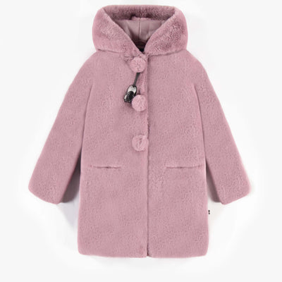 Manteau long rose  || Pink Long Coat