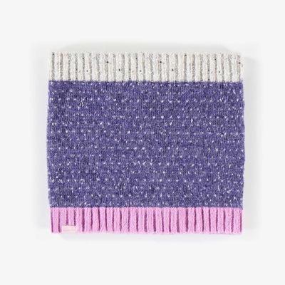 Cache-cou mauve, fille || Purple Neck Warmer, Girl