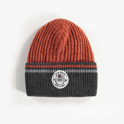 Tuque brune, garçon || Brown Toque, Boy