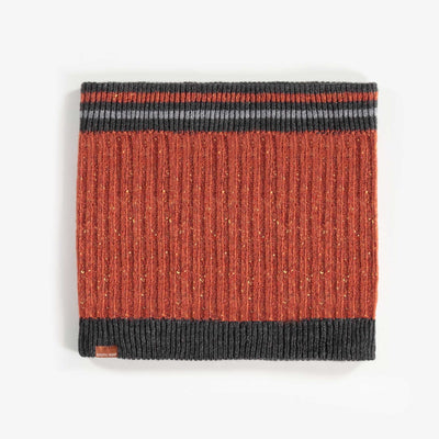 Cache-cou brun, garçon || Brown Neck Warmer, Boy