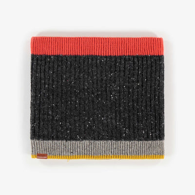 Cache-cou charcoal, garçon || Grey Neck Warmer, Boy