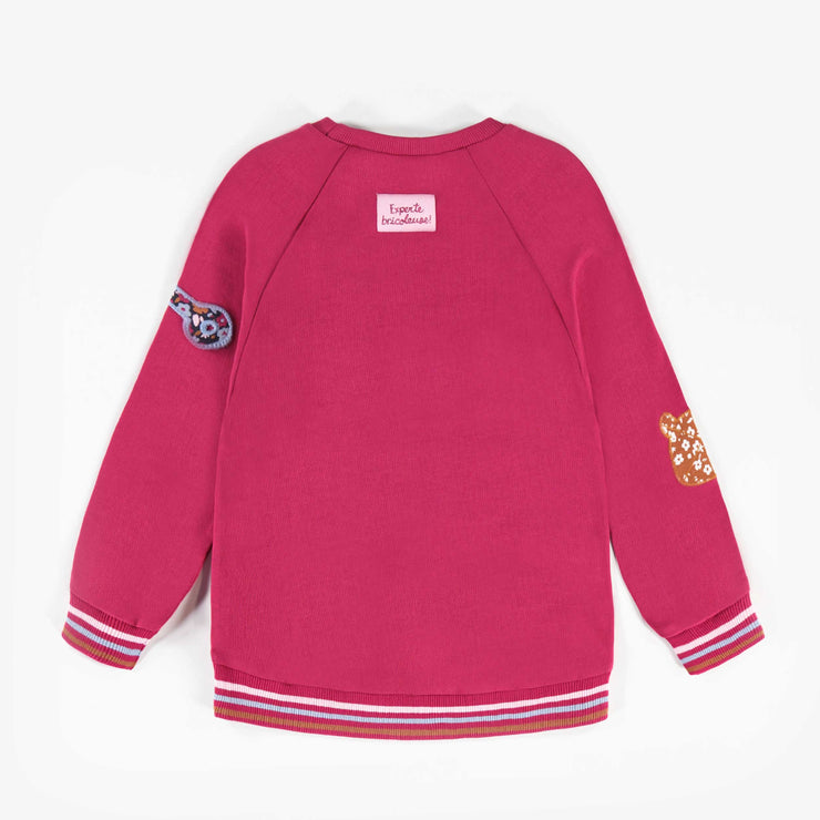 Chandail fuchsia || Fuchsia Sweater