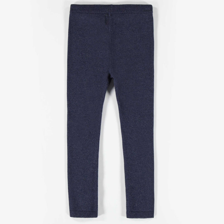 Legging marine de maille || Navy Knit Leggings