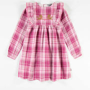 Robe de flanelle à manches longues || Flanel Long-sleeve Dress