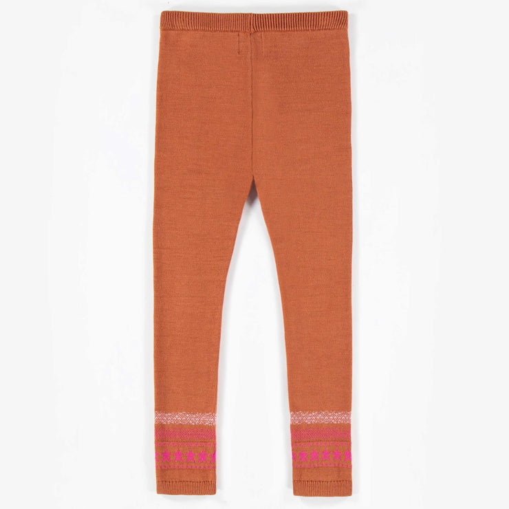 Legging rouille de maille || Rust Knit Leggings
