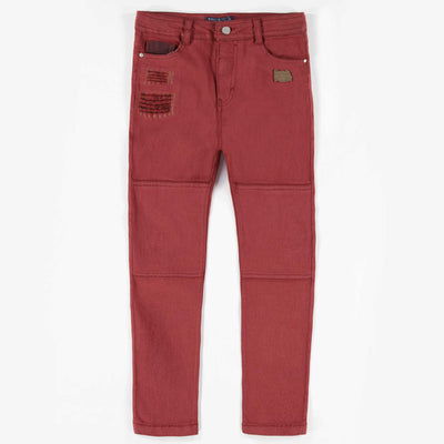Pantalon bourgogne || Burgundy Pants