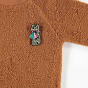 Chandail rouille || Rust Sweater
