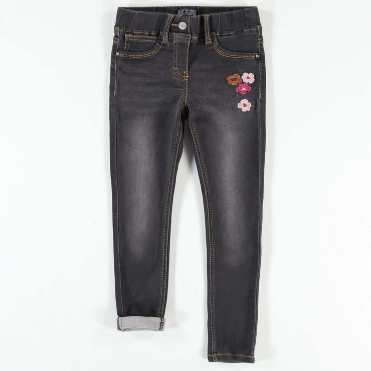 Pantalon en denim foncé, Coupe très ajustée || Dark Denim Pants, Super Skinny