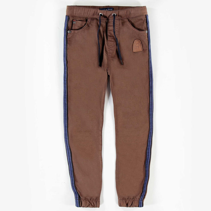 Pantalon brun en denim extensible || Brown Stretch Denim Pants