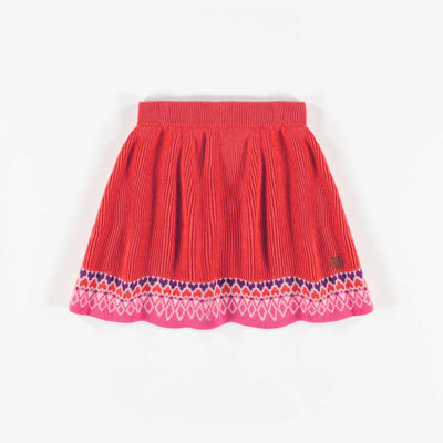 Jupe corail de maille || Coral Knit Skirt