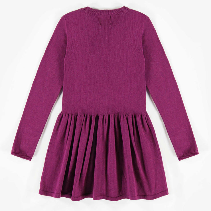 Robe de maille mauve  || Purple Knit Dress