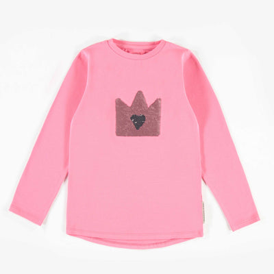 T-shirt rose à manches longues || Pink Long-sleeve T-shirt