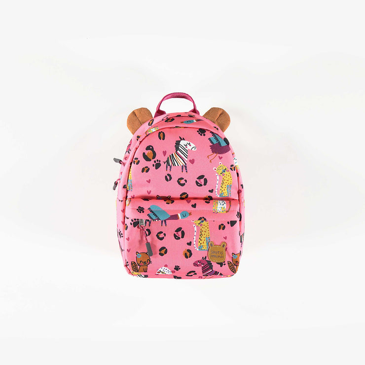 Sac à dos miniature rose || Mini Pink Backpack