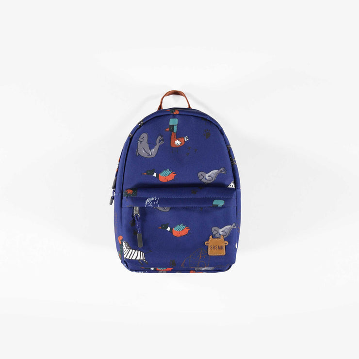 Sac à dos miniature bleu || Mini Blue Backpack