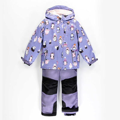 Habit de neige 3-en-1 à pingouins  || Penguin 3-in-1 Snowsuit