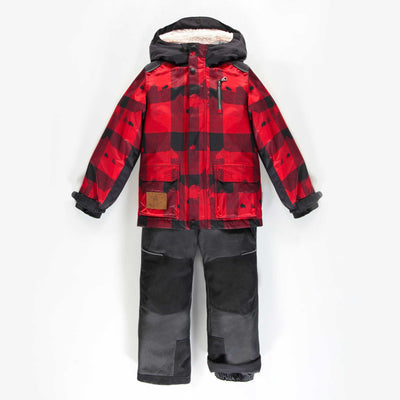 Habit de neige 3-en-1 à carreaux || 3-in-1 Checkered Snowsuit