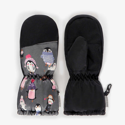 Mitaines doublées, enfant fille  || Lined Mittens, girl