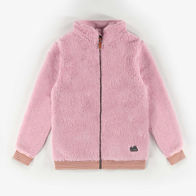 Veste de polar rose || Pink Fleece Vest