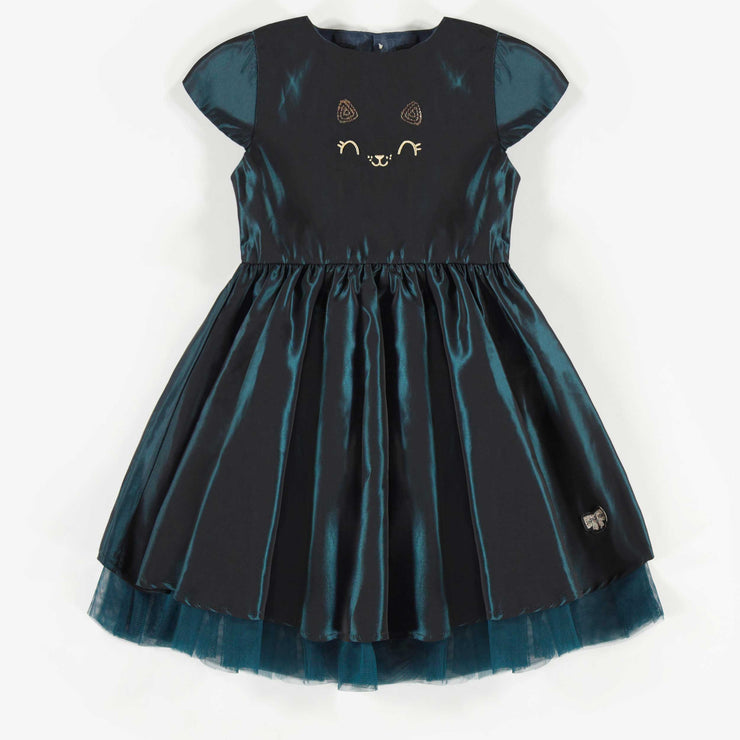 Robe en taffetas, fille  || Taffeta Dress, Girl