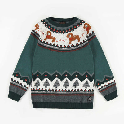 Chandail en maille, garçon  || Holiday Knit Sweater, Boy