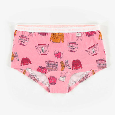 Culotte garçonne des Fêtes, fille 2/3 à 11/12 ans || Holiday Boy Shorts, Girl 2/3 to 11/12 Years