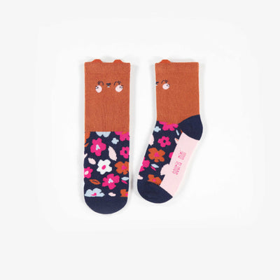 Chaussettes fleuries || Flower Socks