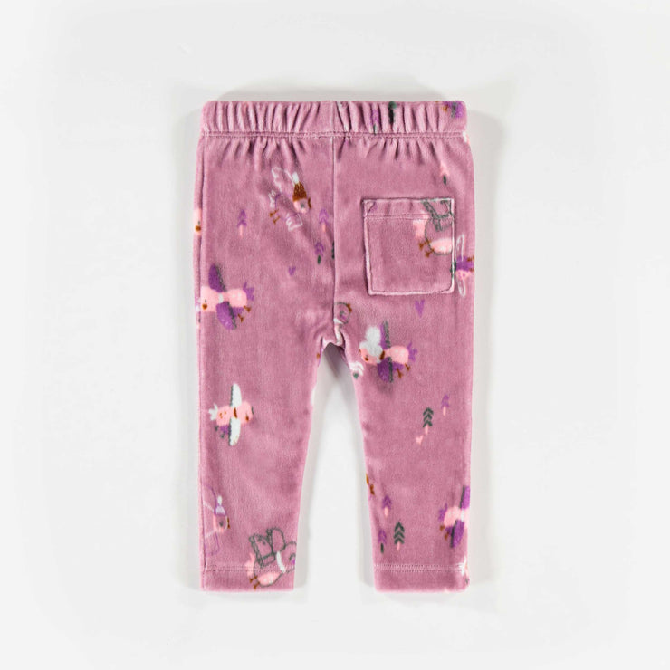 Pantalon mauve à motifs  || Purple Pattern Pants