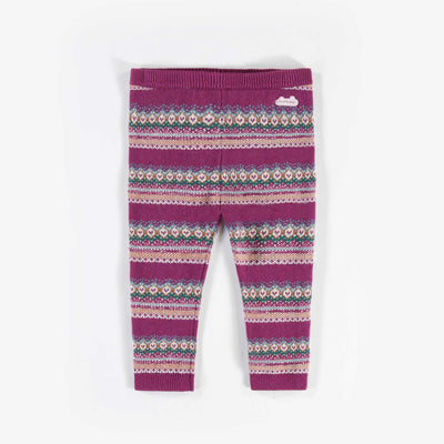Legging de maille mauve   || Knit Purple Leggings