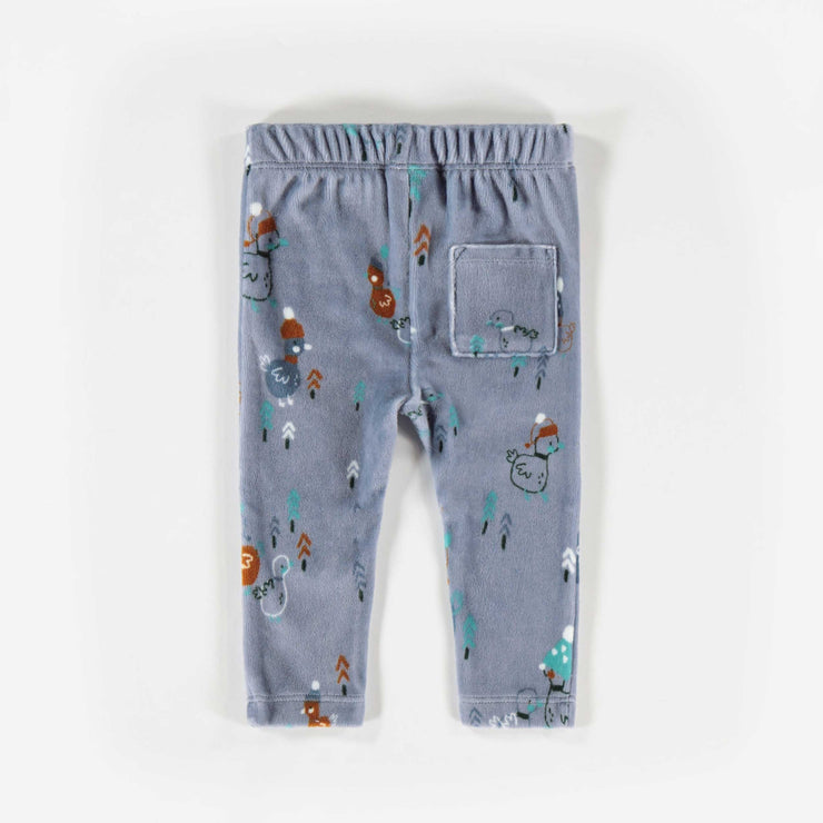 Pantalon gris à motifs  || Grey Pattern Pants