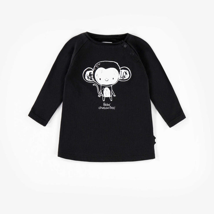 T-shirt noir à manches longues  || Black Long-sleeve T-shirt