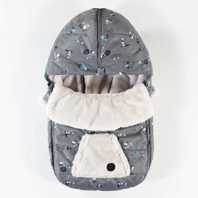 Housse grise pour coquille || Grey Car Seat Cover