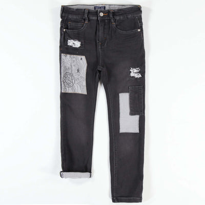Pantalon de denim noir, coupe étroite || Black Denim Pants, Slim Fit