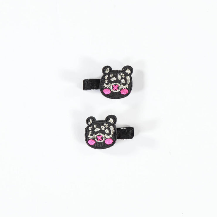 Barrettes ourson || Teddy bear Hair Clips