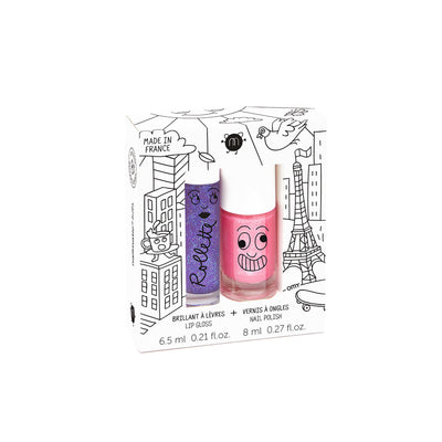 Coffret duo Rollette et vernis à ongles Nailmatic Kids || Nailmatic Kids Rollette and Nail Polish Duo Set