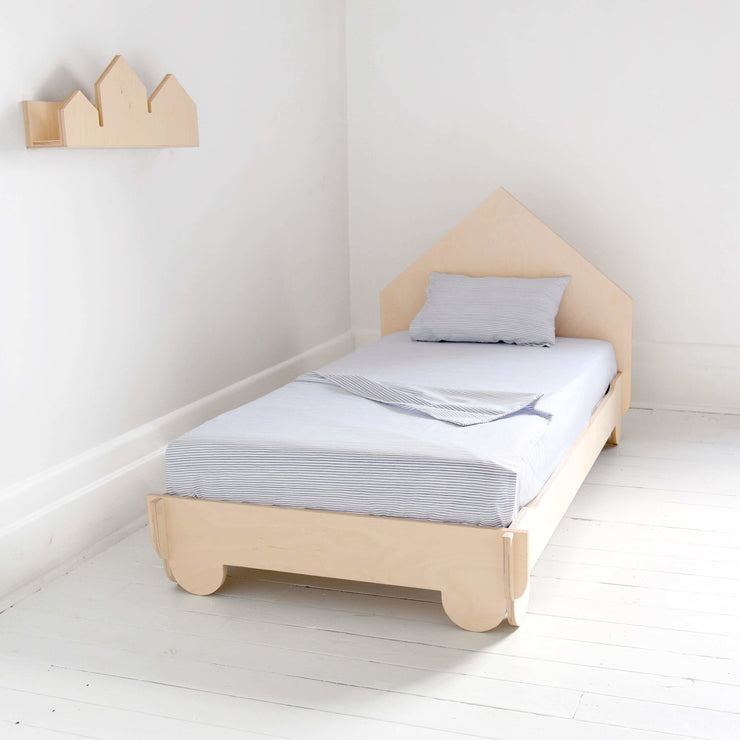 Lit de transition Luno - maisonette || Luno Little House Transition Bed